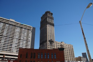 Wolkenkratzer Downtown Detroit